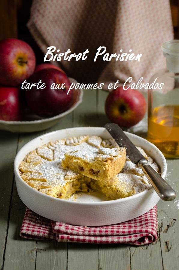 Bistrot Parisien : Torta di mele al Calvados