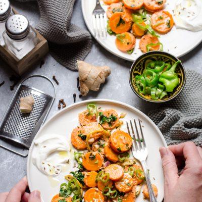 Insalata di carote marocchina