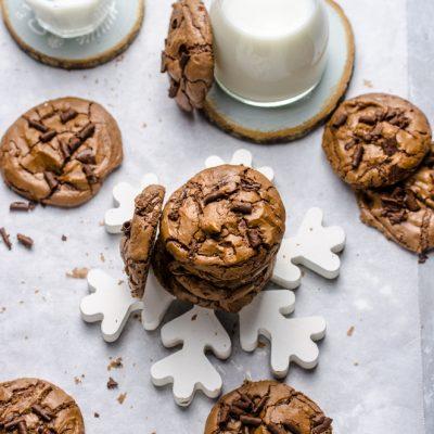 Biscotti 100%  cioccolato