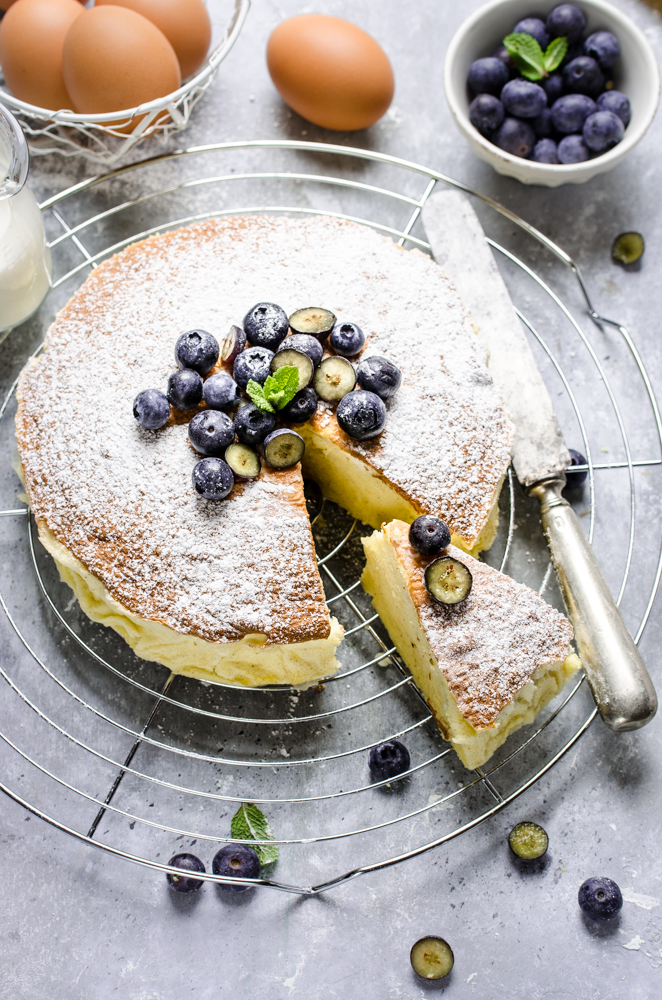 Cheesecake giapponese (cotton cake)