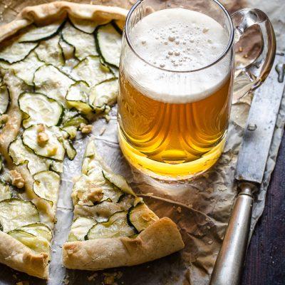 Sfogliatina di gorgonzola e zucchine