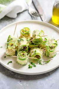 Zucchine a beccafico