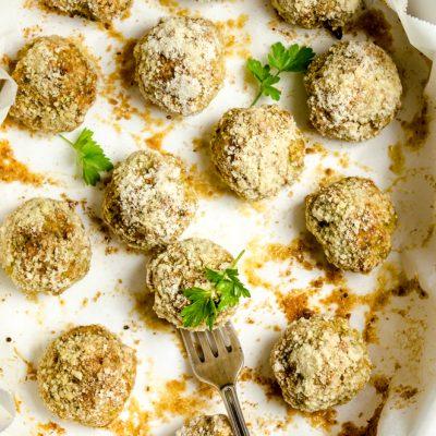 Zucchini Week : Polpette di zucchine e tonno al forno